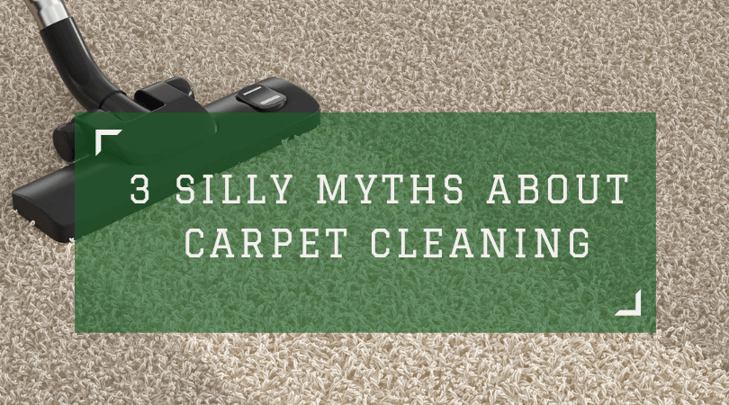 3 Silly Myths About Carpet Cleaning San Diego
